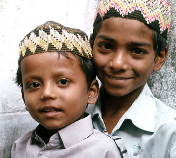 Boys from South Asia