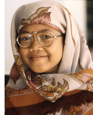 Indonesian Lady