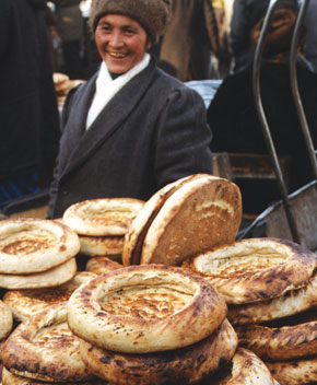 Bread in Central Asia